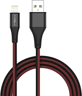 MIPOW Apple MFi Certified iPhone Cable, 1.5M(4.95ft) Lightning Sync & Charging Cable for iPhone Series CCL09-CP-BK020
