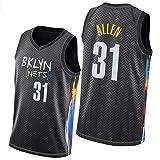 PPPU Nets # 24 Allen # 31 Allen # 33 Claxton # 4 Chiozza Basketball Jersey City Edition Hombres 2021 Nuevo, Verano Jerseys Basketball Uniform Tops # 31 Allen-L