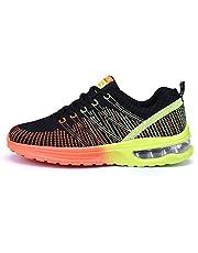 Hardloopschoenen voor heren en dames, outdoor sportschoenen, asfaltschoenen, zwart/rood/grijs 35-46