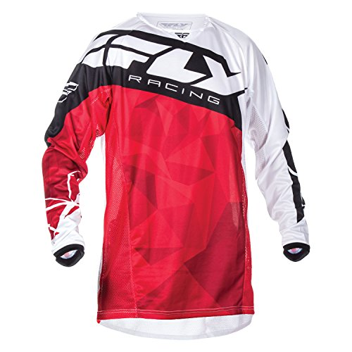 Fly Racing Jersey Kinetic Crux Rot Gr. XL