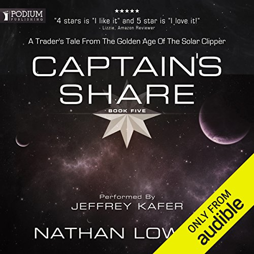 Captain's Share audiobook cover art