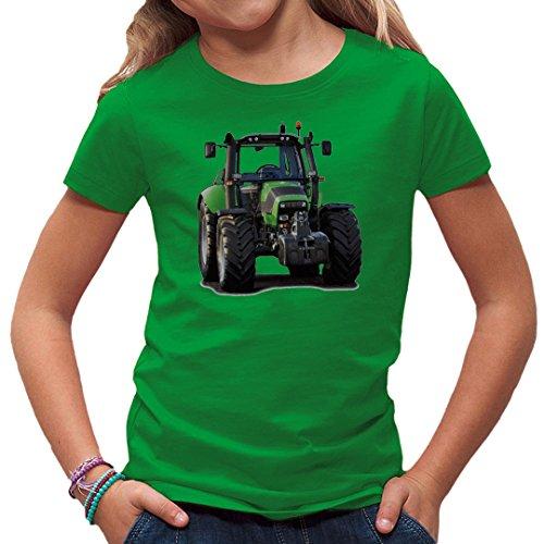 Im-Shirt Traktoren Kinder T Traktor: Deutz Fahr 6120.4 by Kelly Green Kinder 3-4 Jahre