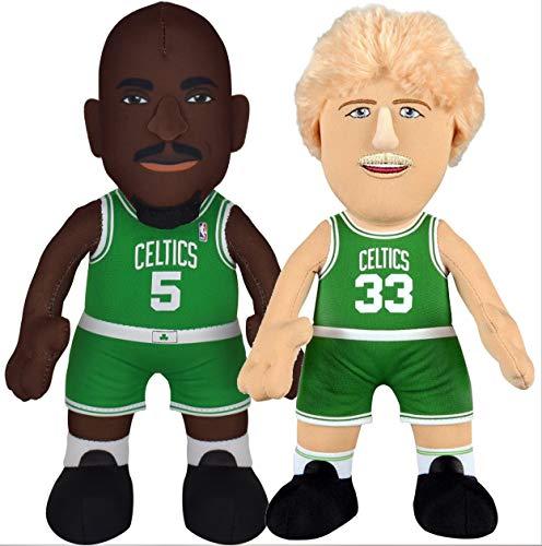 Bleacher Creatures Boston Celtics Larry Bird & Kevin Garnett 10' Plush Figure Bundle