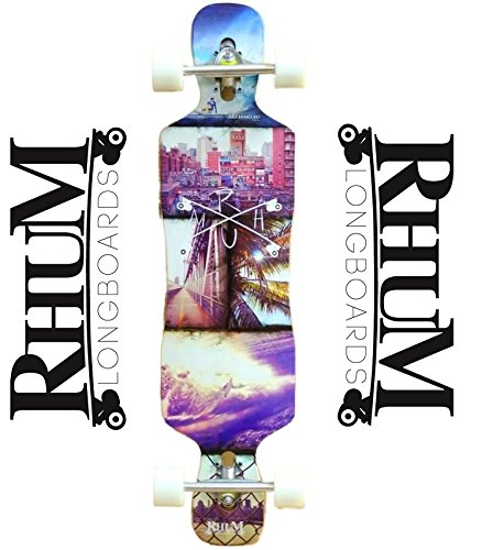 Rhum Longboard Grenada 38'' DT Overproof Drop Through Twin Tip