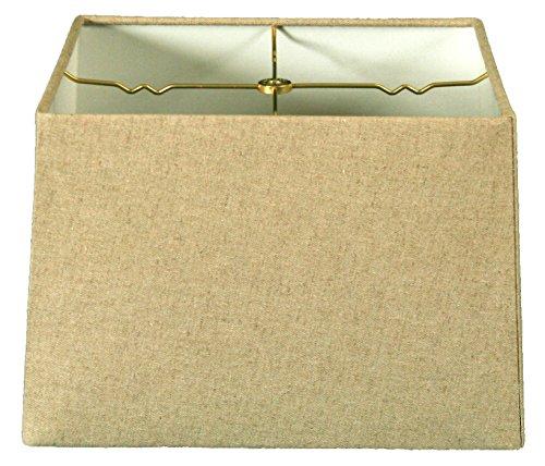 Royal Designs lampenkap, vierkant, harde schaal, eierschaal-design, 15 x 15 cm, 16 x 16 cm, 10 stuks