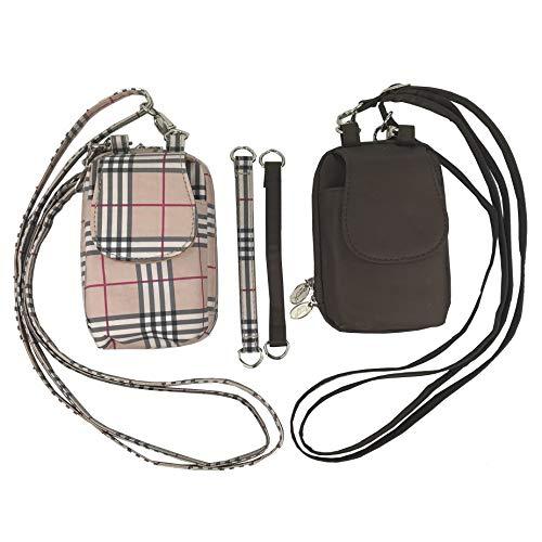 Crossbody Bag-QVC 2 Pack (Brown & Plaid)-Small -  Charm14, 151002-151371 small