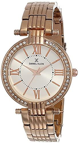 Daniel Klein Analog Silver Dial Women's Watch - DK11138-2