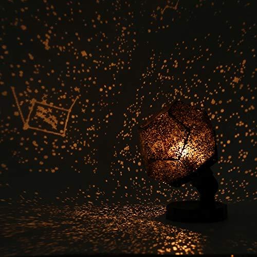 Sternenhimmel Projektor Kinder Stern Astro Himmel Kosmos Nachtlicht Projektor Lampe Sternenzimmer Schlafzimmer Romantische Wohnkultur Drop Shipping EU-Stecker bunt