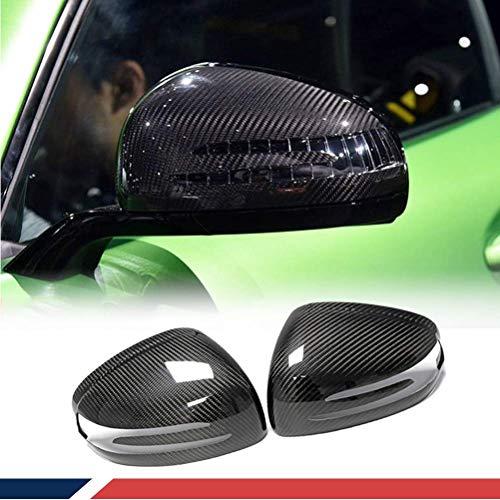 Dakecy Copri specchietti in Fibra di Carbonio Adatti per Mercedes Benz SLK SLC SL AMG GT Copri specchietti Laterali Stile ADD-on 2PCS Factory Outlet