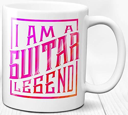 Gitarre Legende Kaffeebecher Gitarrist Geschenk 330 ml Keramik Teetasse
