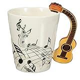 HARD VILLAIN 220ml Guitar Ceramic Cup / Mug /Coffee Tea Cup Home Office...