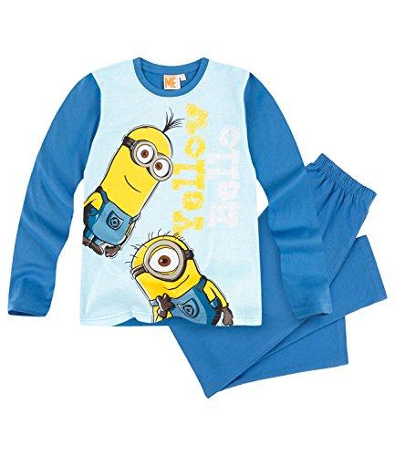 Minions Despicable Me Jungen Pyjama - blau - 116