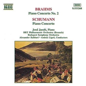 Brahms: Piano Concerto No. 2 / Schumann: Piano Concerto in A Minor