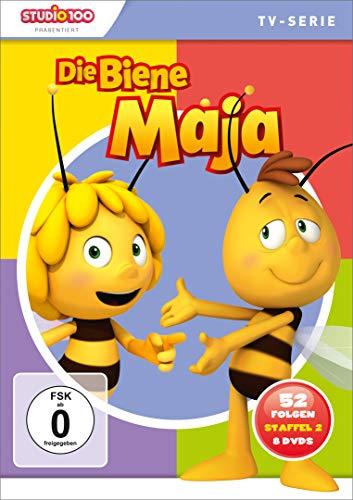 Die Biene Maja - Komplettbox, Staffel 2, 52 Folgen [8 DVDs]