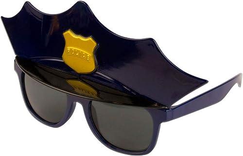 genuina alta calidad Folat Gafas Diseño de de de Gorra de policía para Fiestas, tamaño único  ventas en linea