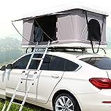 XPHW Camping Tente De Toit en Plein Air Tente De Toit De Voiture ABS, Adapté pour 2-3 Personnes Voiture Automatique Tout-Terrain SUV Auto-Conduite Tournée