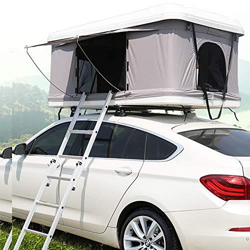 XPHW Outdoor Camping Dachzelt ABS Autodachzelt, Geeignet Für 2-3 Personen Auto Automatische Geländewagen Selbstfahrer Tour