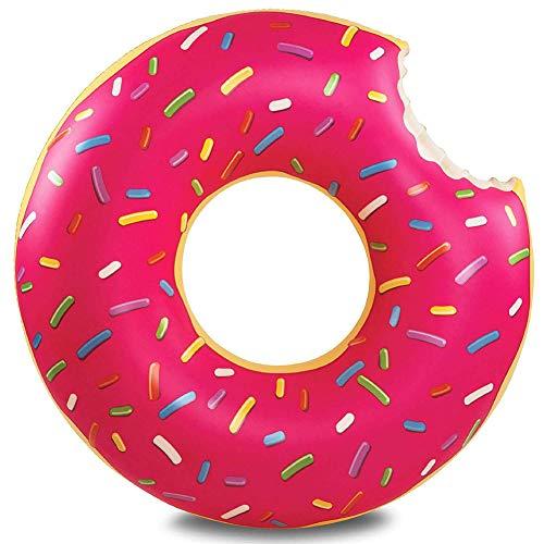 Adult Pool Opblaasbaar Speelgoed Zwemmen Ring, Opblaasbare Donut Swimming Ring Voor Zwembad Float Matras Zwembad PVC Zomer Drijvende Ring Seat Toys