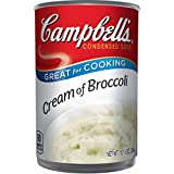 A soup made with high-quality broccoli, cream, and onions Packaged in a non-BPA-lined, 105 oz recyclable can Enjoy a bowl on its own or incorporate the creamy soup into recipes that need a rich boost For over 1,000 recipe ideas, visit Campbellscom's ...