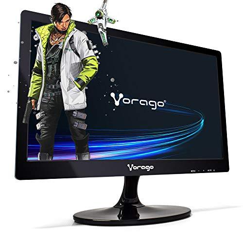 Vorago MONVGO100 Monitor Led-W18-200-V2-18.5 Pulgadas, 250 CD/M², 1366 X 768 Pixeles, 5 Ms, Negro