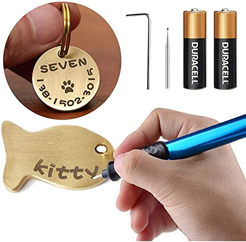 電池式 電動 彫刻ペン ハンディルーター 電子彫刻刀 金属 木材 ガラス 文字入れ 刻み イラスト 加工などDIY工具