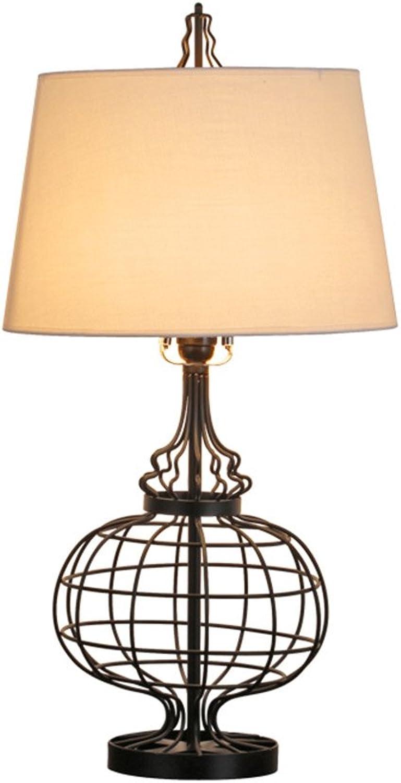 Bügeleisen Schlafzimmer Nachttischlampe Moderne Stoff Wohnzimmer Tischlampe (Geschenk) B071ZFFPWW   | Haltbarer Service