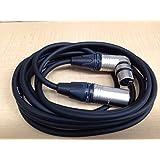 PROTECH/プロテック カムライト用 XLR 4ピン−XLR 4ピン(L型)ケーブル (3m) [CAN-300]