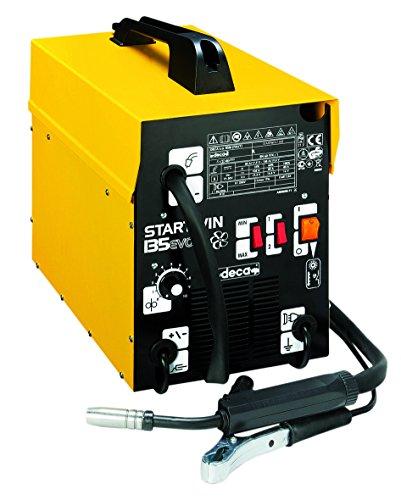 Saldatrice a Filo Deca STARTWIN 135 EVO Gas - No Gas 230 V completa di cavi + bobina di filo animato da 0.9 mm 200 gr omaggio