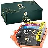 EMBRIIO 934XL 935XL   4er Set Kompatibel Tintenpatronen 934 935 XL Ersatz für HP OfficeJet Pro 6830 6230 6220 6825 6835 OfficeJet 6820 6815 6812