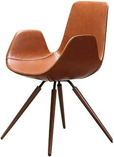 SCDMY Silla de la computadora Silla, sillas de Cuero Modernos for Comedor, Cocina, Sala de Estar, Dormitorio (Tamaño: 48 * 48 * 83cm)