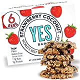 The YES Bar Paleo Protein Bars Healthy and Pure Paleo Snack Bars Natural Gluten Free Soy Free and Dairy Free Nutrition...