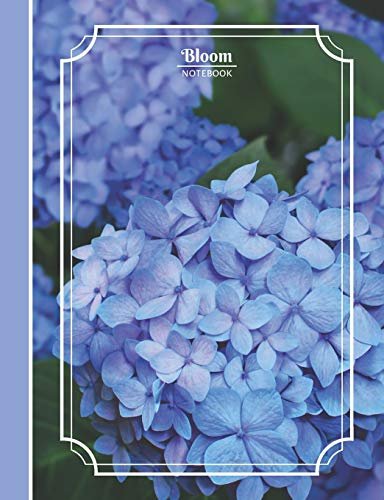 Bloom: Flourish Inside | Hydrangea | Composition Sized Notebook | College Ruled | 100 pages
