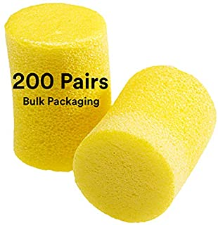 3M Ear Plugs, 200 Pairs/Box, E-A-R Classic 390-1000, Uncorded, Disposable, Foam, NRR 29, For Drilling, Grinding, Machining, Sawing, Sanding, Welding, Bulk (B0006GWRY0) | Amazon price tracker / tracking, Amazon price history charts, Amazon price watches, Amazon price drop alerts
