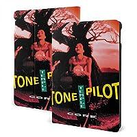 CSHQ Stone Temple Pilots ストーン・テンプル・パイロッツ タブレット ケース iPad 7th /iPad Air3/ iPad Air pro 対応用ハードカバー 三つ折りスタンド スマートケース 10.2/10.5 インチ 適用 軽量 薄型 オートスリープ/ウェイク PU レザーカバー ,
