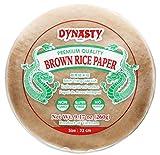 Dynasty Premium Quality Brown Rice Paper, 9.17 oz