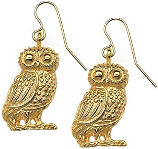 Sale - Reproduction of the Athena Owl Earrings, From Our Museum Store Collection