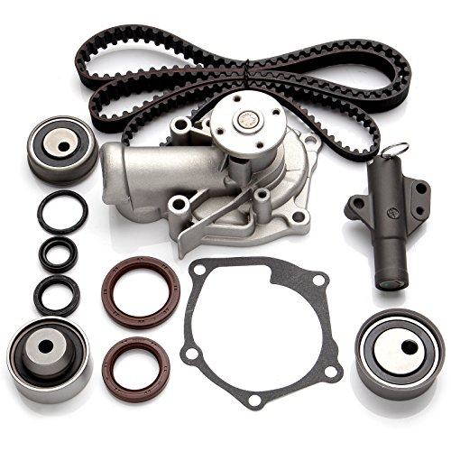 Timing Belt Kits Fit 2006-2009 Mitsubishi Eclipse 2004-2006 Mitsubishi Galant 2004-2006 Mitsubishi Lancer 2004-2006 Mitsubishi Outlander INEEDUP Engine Components Timing Belt Kits