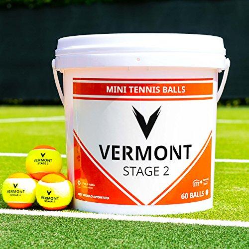 Vermont Pelotas de Tenis | Pelotas de Mini Tenis | Entrenamientos de Tenis | Reglamentarias