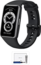 HUAWEI Band 6, All-day SpO2 Monitoring, 1.47'' FullView Display, 2-Week Battery Life, Fast Charging, Heart Rate Monitorin...