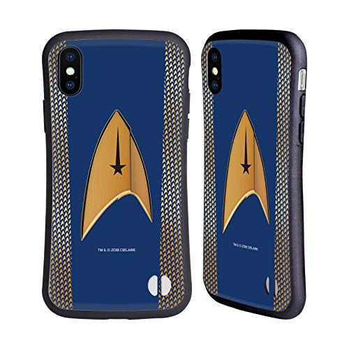 Head Case Designs Officially Licensed Star Trek Discovery Command Uniforms Hybrid Case Compatible with Apple iPhone X/iPhone Xs
