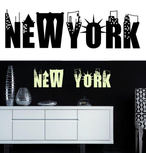 Decooo.be Sticker Mural New York (Sticker Noir)