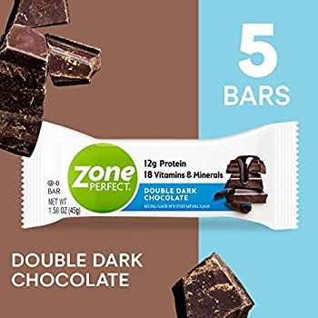 5-Count ZonePerfect Double Dark Chocolate Protein Bars