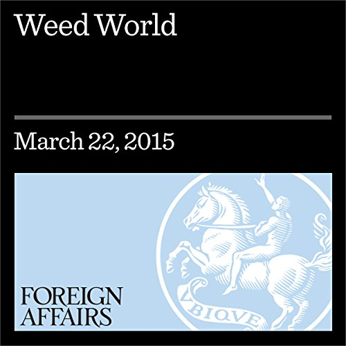 Weed World audiobook cover art