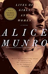 book cover of Lives of Girls and Women by Alice Munro; books set in Toronto