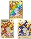 Charizard VMAX Champion's Path Custom Metal Pokemon Cards