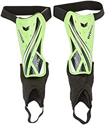 erima shin guards Resista 5.0, neon green / black, XXS, 721610