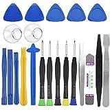 HQdeal Handy Reparatur Werkzeug Set, 22 in 1 Reparatur Öffnungs Werkzeug Kit mit 5 Schraubendreher,...