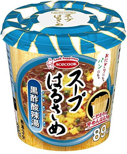 エースコック スープはるさめ 黒酢酸辣湯 34g ×6個