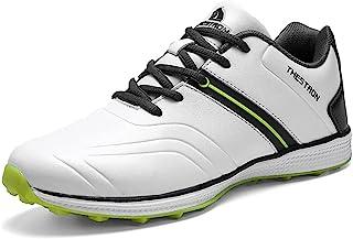 أحذية جولف مقاومة للماء للرجال أحذية رياضية رياضية رياضية احترافية خفيفة الوزن المشي أحذية للرجال في الهواء الطلق المشي
