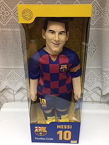 Muñeco Toodle Dolls FC Barcelona Leo Messi 25cm Altura